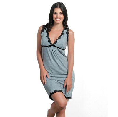 Kathy Lace Trim Nightie by Gingerlilly | Pyjamas.com.au