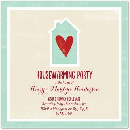 34 best images about invitations on pinterest 30th for How to organize a housewarming party