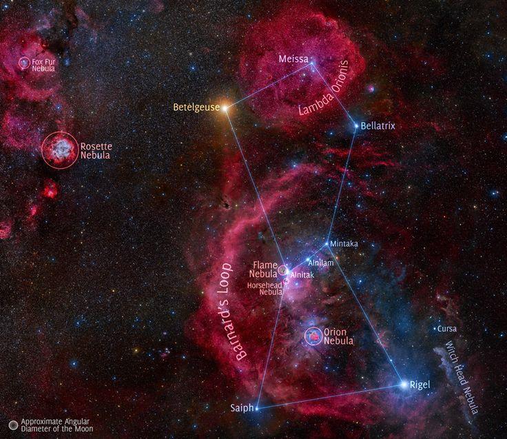 A 212-Hour Exposure of Orion  Image Credit & Copyright: Stanislav Volskiy, Rollover Annotation: Judy Schmidt