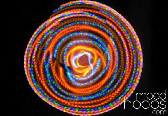 Bohemia LED hoop by Moodhoops by moodhoops on Etsy