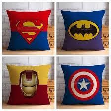 Resultado de imagem para almofadas de super herois