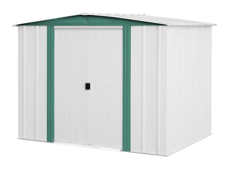 Arrow Sheds HM86 Hamlet Steel Storage Shed, 8 by 6-Feet