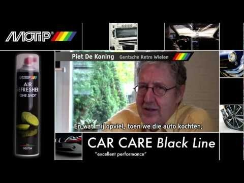 MOTIP Car Care Black - Air Refresher 'One Shot' (testimonial)  www.thebuzzcompany.be
