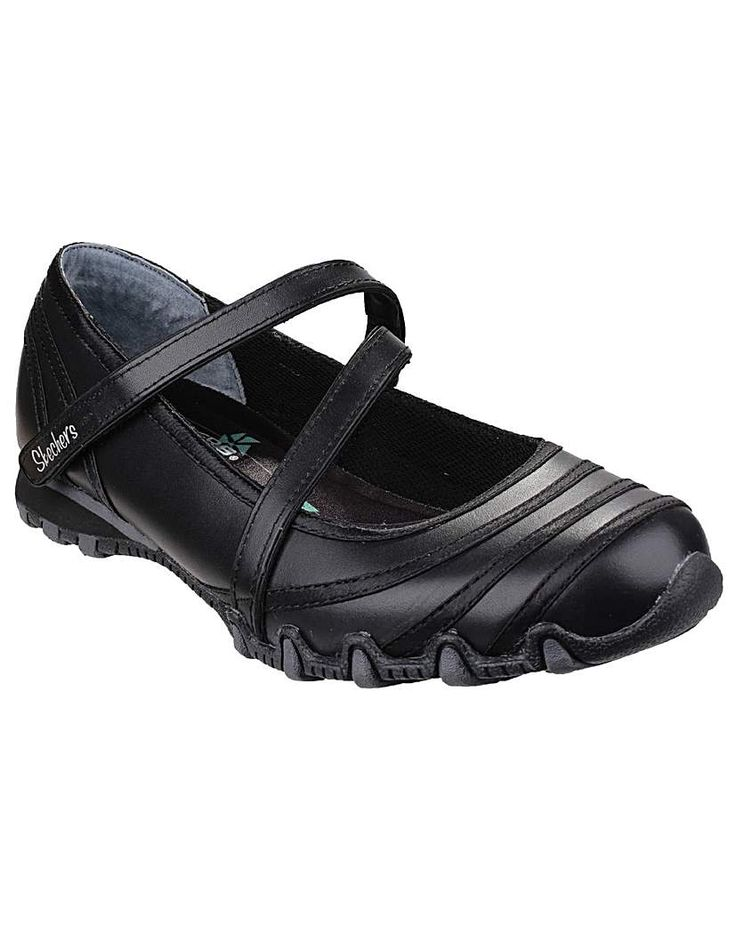 Skechers Bikers Satin Shine: Skechers Bikers Satin Shine These practical and stylish shoes are great for when you're on your feet all day…
