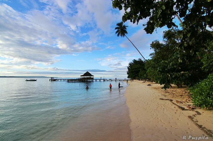ORA beach, Sawai, Maluku, INDONESIA