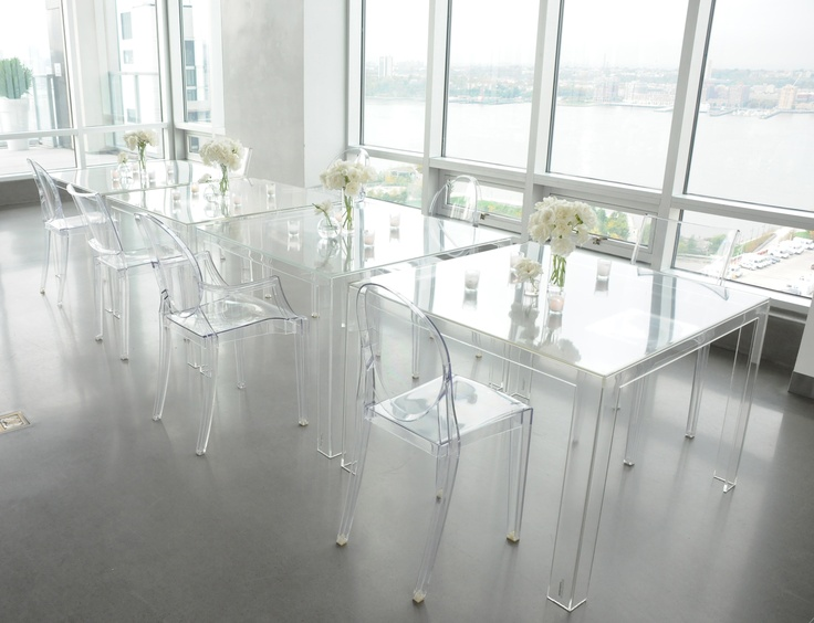 Beau The New Invisible Dining Table From Kartell.