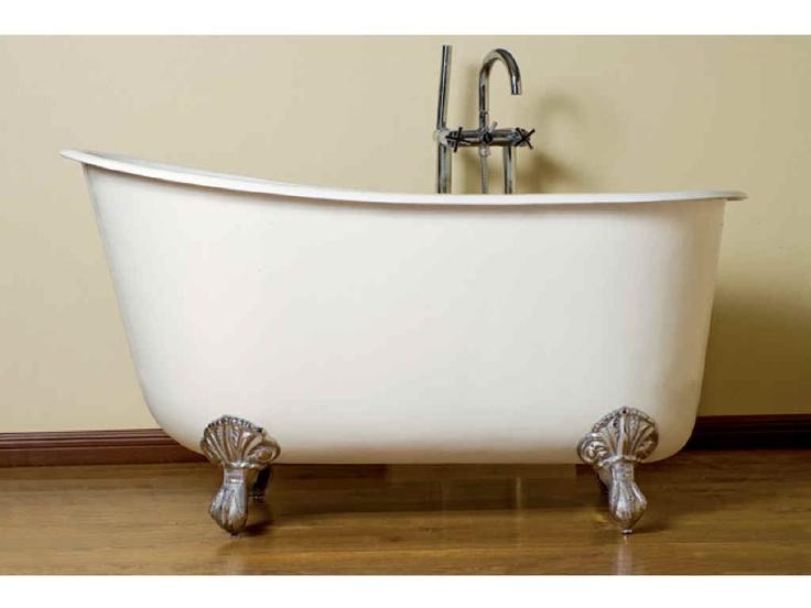 claw foot tub: Iron Swedish, Slippers Tubs, Bath Tubs, Clawfoot Bathtubs, Swedish Slippers, Clawfoot Tubs, Bathroom, Deep Soak, Cast Iron