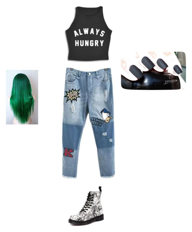"""Street Style💸"" by lifebybya on Polyvore featuring Dr. Martens"
