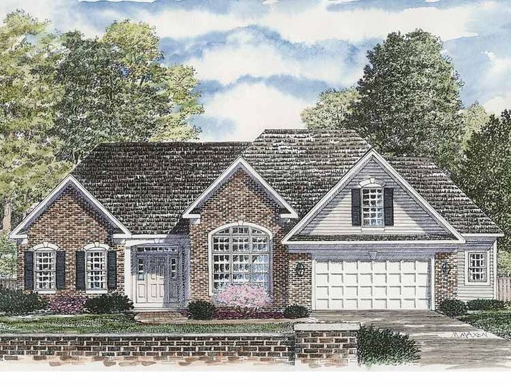 eplans ranch house plan traditional one story 1962 square feet and 3 bedrooms from