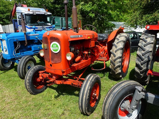 Vintage British Nuffield tractor