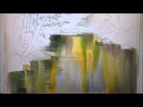 Paint Reflections in the Creek Part 1 - YouTube