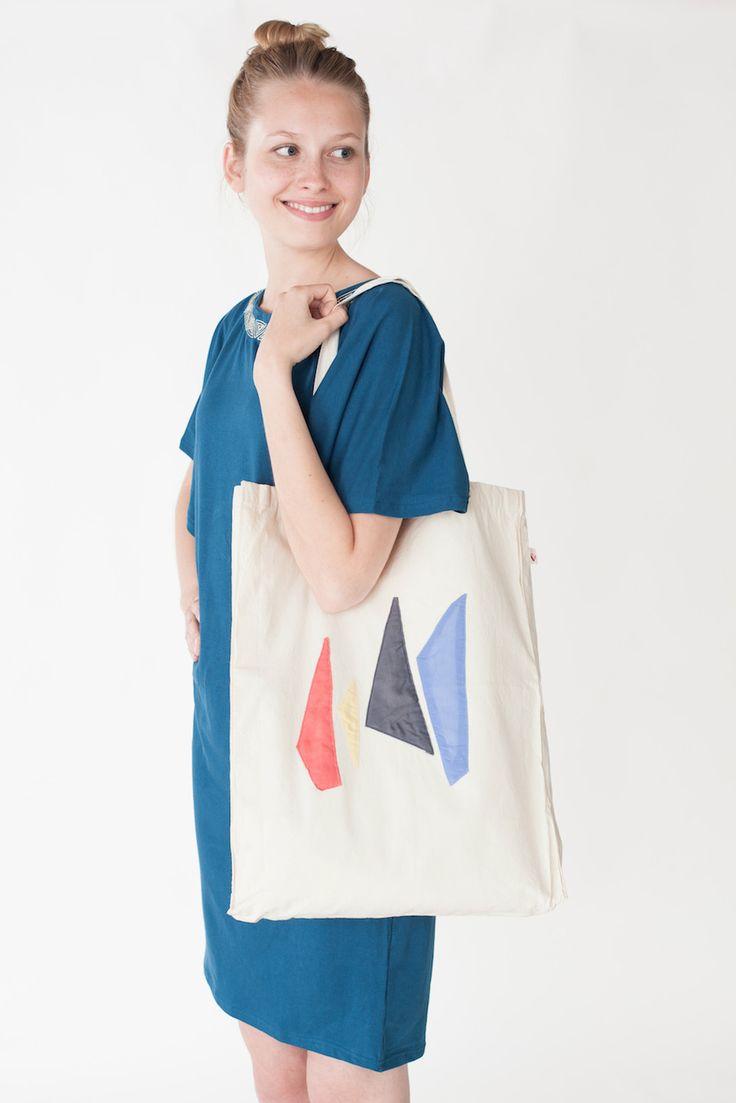 "Shopper ""Plaudertasche"" Obelisk | Jyoti - Fair Works"
