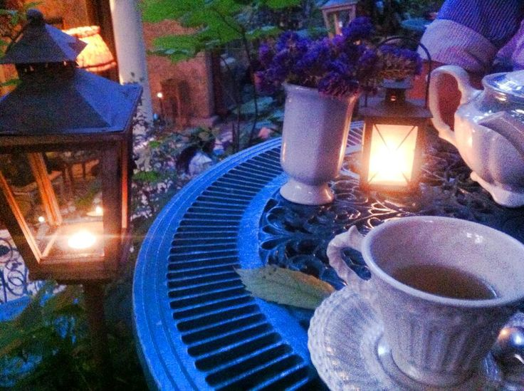 A pretty tea house, perfect for a bohemian getaway.