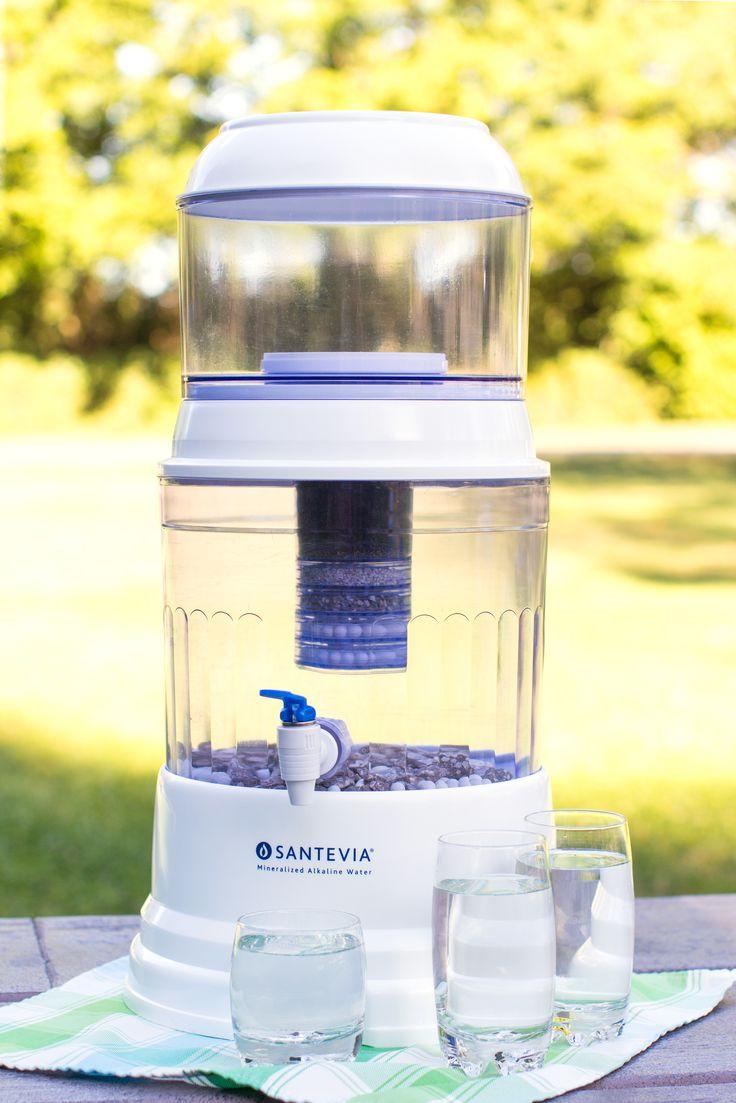 Countertop Alkaline Water Filter : ... Santevia Countertop #Alkaline Gravity Water System. #filter #water
