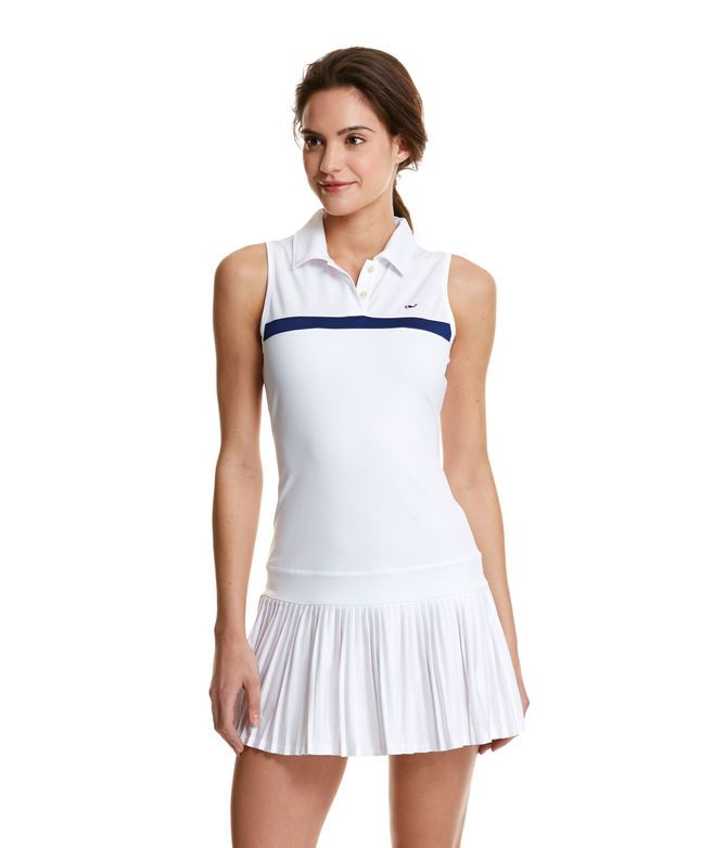 White Tennis Dress // Vineyard Vines
