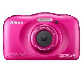 aparat cyfrowy Nikon Coolpix W100 (różowy)