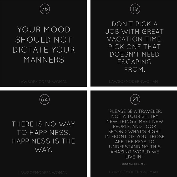 Modern Classroom Quotes : Best images about laws of modern woman on pinterest