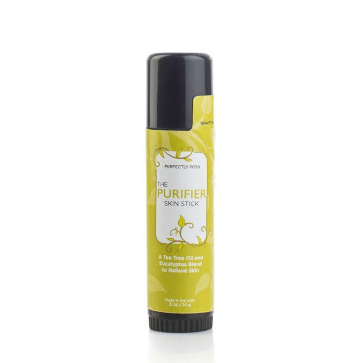 A shea butter and beeswax based stick with soothing and purifying tea tree and eucalyptus oils.  A summer skin saver—stops mosquito bite itches!
