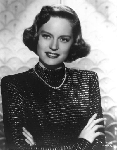 """Alexis Smith in """"Whiplash"""" from Warner Bros. in 1948"""