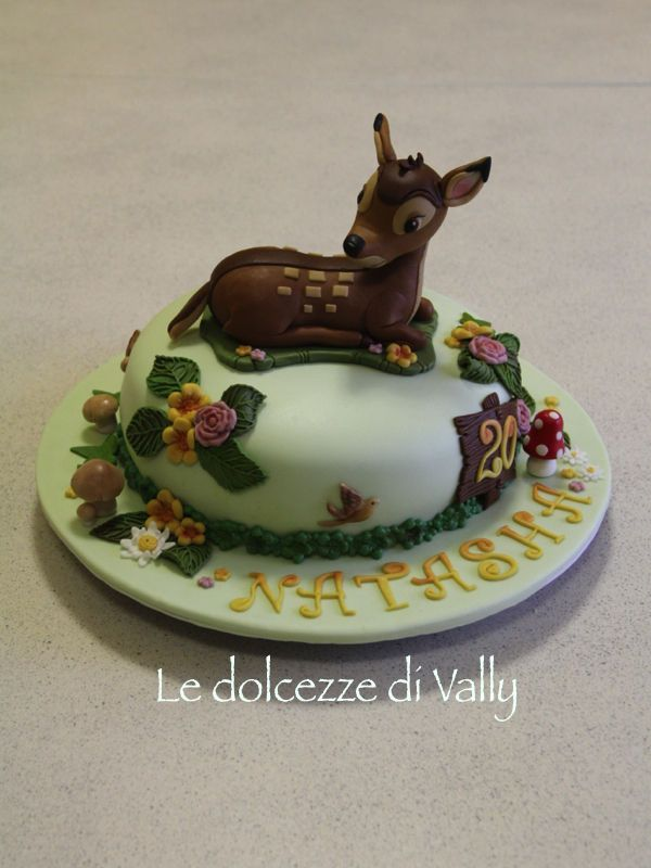 30 Best Bambi Cakes Images On Pinterest Disney Cakes
