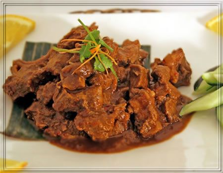 The Richness of Flavors in Indonesian Food : Rendang #deliciousfoods