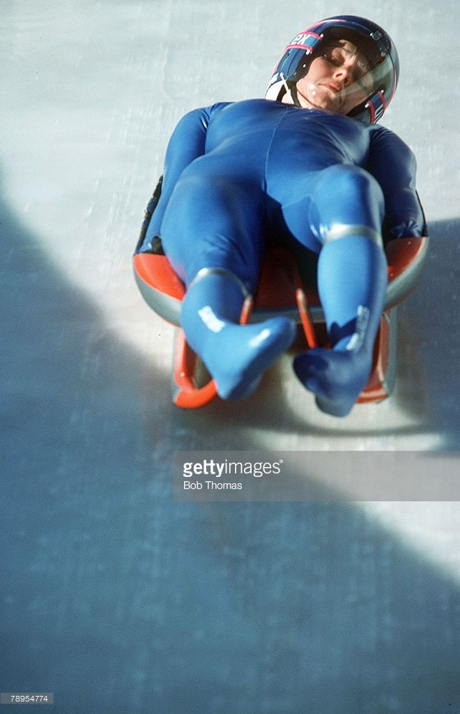Sport, 1988 Winter Olympic Games, Calgary, Canada, Ladies Luge, Livia Pelin, Romania