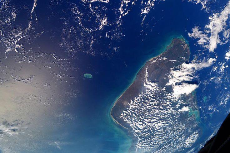 Мексиканский залив и полуостров Юкатан. Фото: NASA/Terry W. Virts