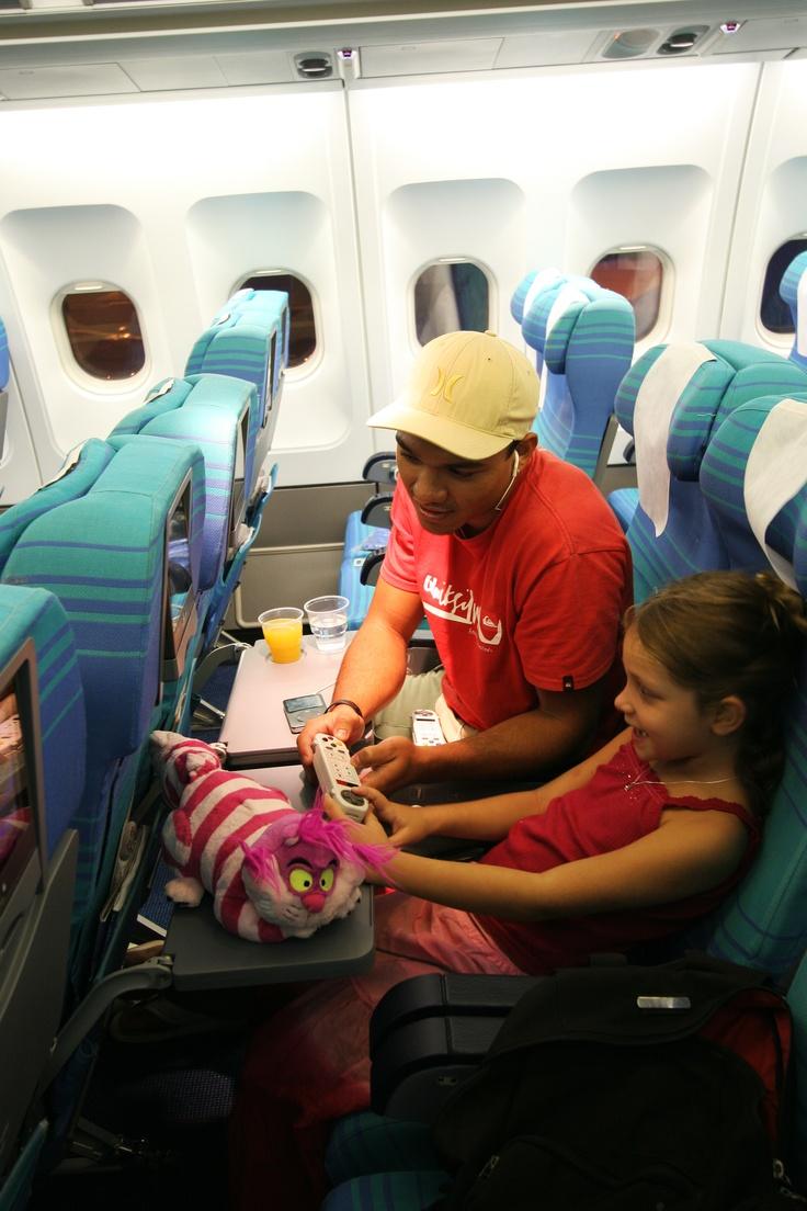 Air Tahiti Nui Moana Economy class