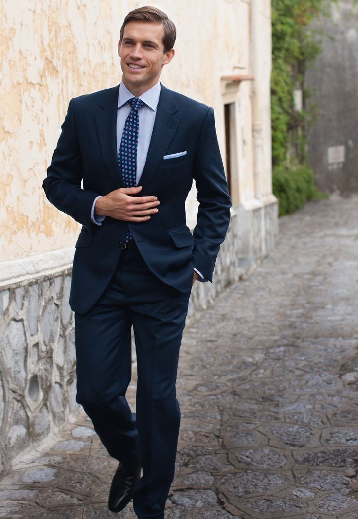 Dark Blue Suit Combinations Navy Brow