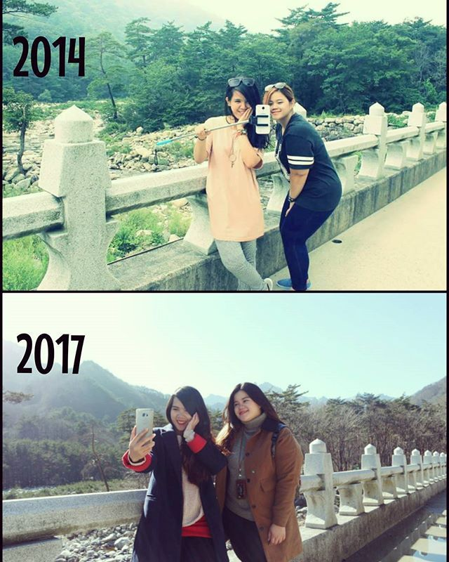Tahun ke 4  . . . Nothing changes.  No reply. No rewind. So enjoy every moment as it comes. Thank you 사랑하는 친구.  #winter #summer #holiday #in #korea #trowback #norewind #bestfriend #memories #instatravel #travelgram #여행스타그램 #방학끝 #친구 #추억 by fikajoo. 방학끝 #norewind #holiday #trowback #travelgram #bestfriend #winter #instatravel #친구 #추억 #여행스타그램 #summer #memories #korea #in