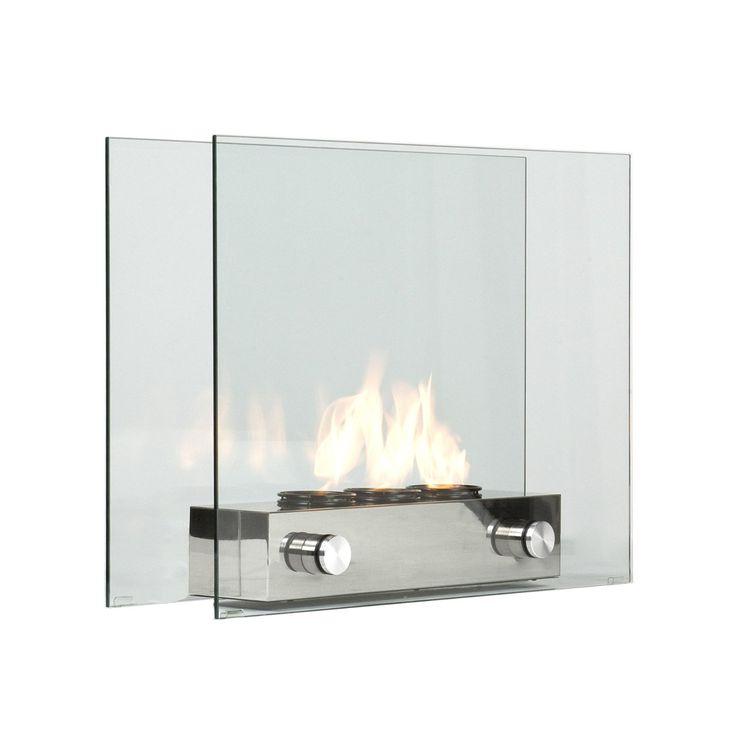 Modern Portable Glass Fireplace