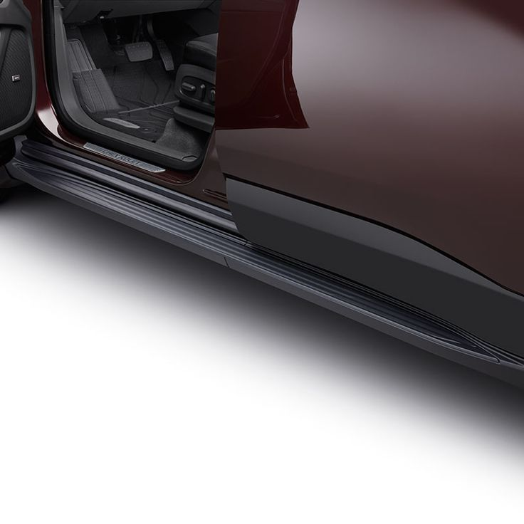 Get in and out of your Traverse with ease with these stylish Molded Assist Steps in MoldedInColor Black These Chevrolet Accessories assist steps feature a textured step pad for improved footing and direct chassis mounting for maximum support Designed engineered and tested by Chevrolet exclusively for the All New Chevrolet Traverse Available on LS LT and RS trim levels Not compatible with front splash guards