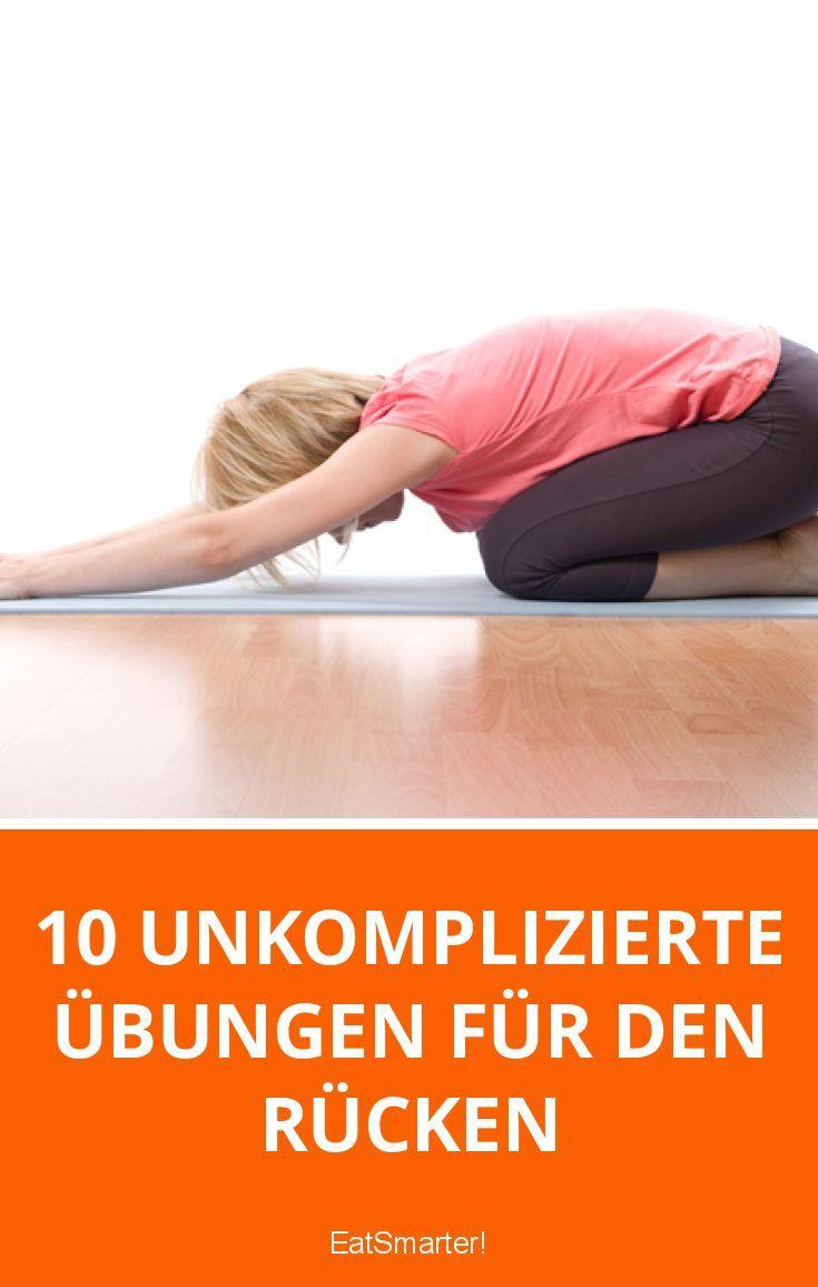 10 unkomplizierte Übungen für den Rücken   eatsmarter.de