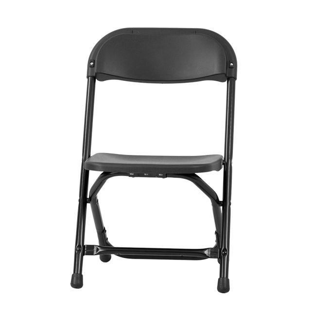 Kids Black Plastic Folding Chair 8 99 Entertaining