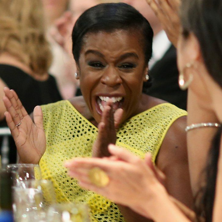 Pin for Later: This Is the Moment Uzo Aduba Won Her SAG Award