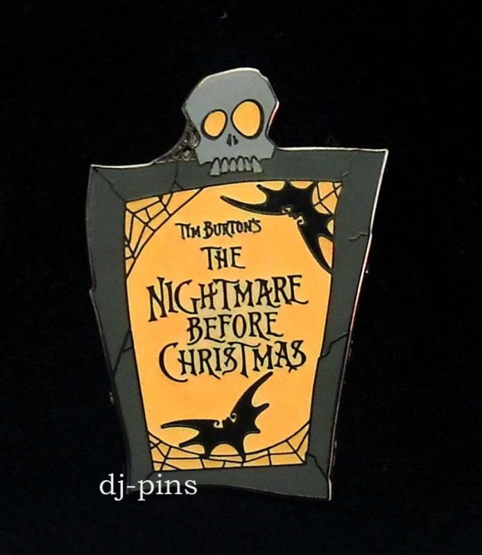 It's just a picture of Astounding The Nightmare Before Christmas Logo
