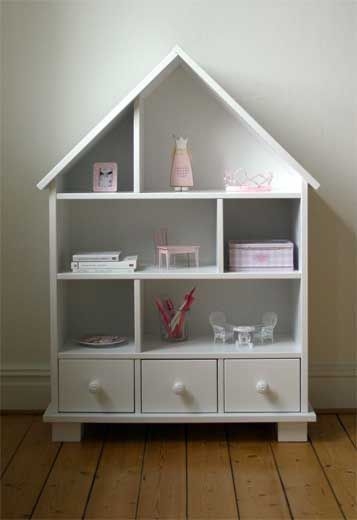 Dollhouse or bookshelf, you decide. Or wait, you don't have to - it can be both!