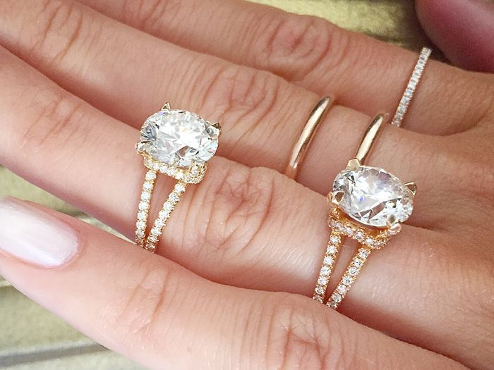 these will be the two most popular engagement ring trends of 2018 - Popular Wedding Rings