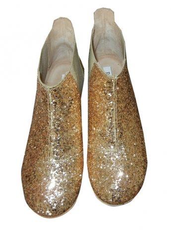 Boots Pedro Garcia dorés neufs taille 37 / Doré, bronze, cuivre / 37 FR / A paillettes / Toutes saisons