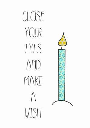 Close Your eyes - Verjaardagskaarten - Kaartje2go