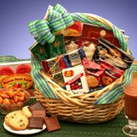 Kosher Certified Snacks Gift Basket ~ $48.99  For your Kosher friends and family members, here's the new Kosher Snacks Gift Basket.   Carefully selec...