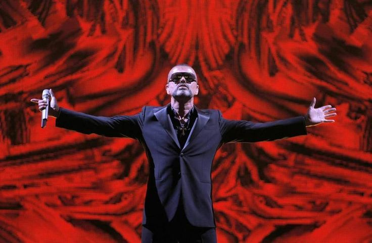 British singer George Michael performs at a concert to raise money for the AIDS charity Sidaction, during the Symphonica tour at Palais Garnier Opera house in Paris, France, Sept. 9, 2012.