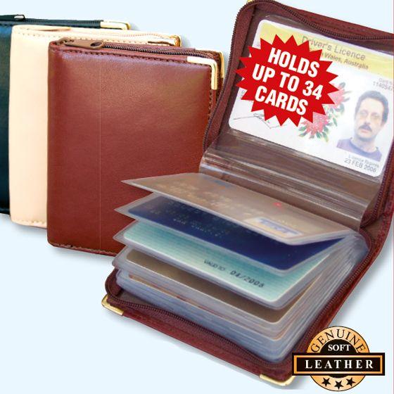 Zip Around Credit Card Case
