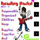 Rock Star Student Binder Cover for Rock-n-Roll Classroom Theme...