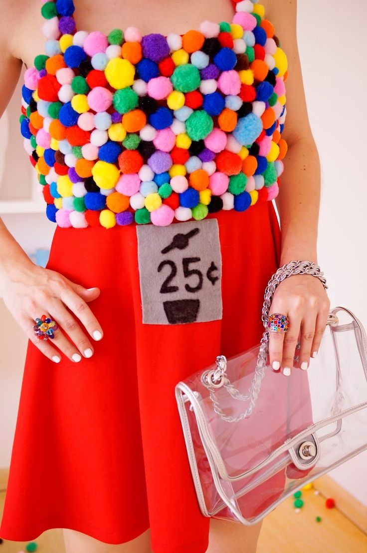 Homemade Gumball Machine costume -- Step by step tutorial on blog!