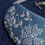 """Украшения ручной работы. Ярмарка Мастеров - ручная работа """"Embroidery"""" - ожерелье из полимерной глины. Handmade."""