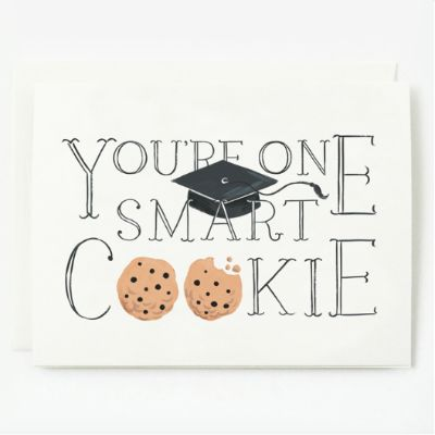 Quill & Fox Single Card - One Smart Cookie Card   Pony Lane