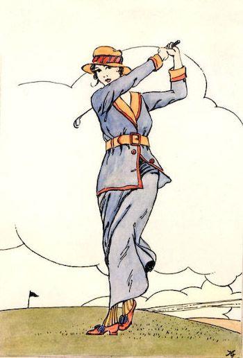 vintage golf clip art - photo #18