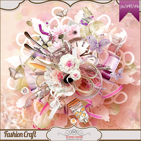 Fashion Craft {Kit} by Valentina's Creations