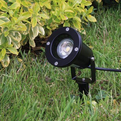 LED TUINSPOT + GRONDPIN INCL. LED SPOT 230V 3W 230LM 3000K - Edegem -